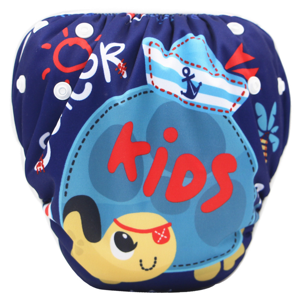 Kids Swim Diapers Reusable Swim Pool Pants Diaper One Size Swim Diapers