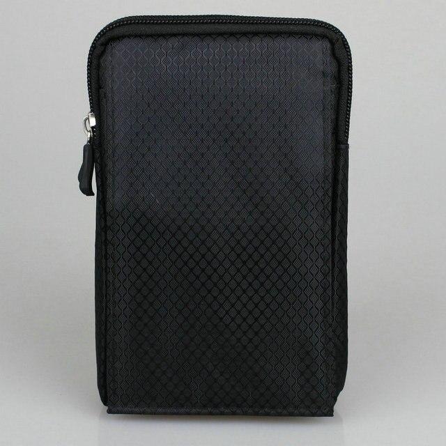 b9bfa18da2e5 Téléphone Portable étanche Pochette En Nylon Ceinture Taille Sac Double Zip  3 Poche Étui avec Printemps