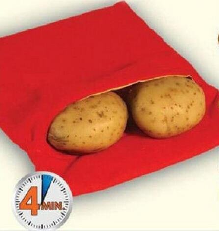 Cooking-Tool Cooker Potato-Bag Oven Perfect Baked Red 4-Minutes Useful Just