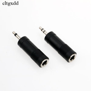 Image 2 - cltgxdd 1PCS 3.5mm Male to 6.5mm Female Mono/Dual Jack Adapter Plug Stereo Speaker Audio Converter for Mobile Phone PC Notebook
