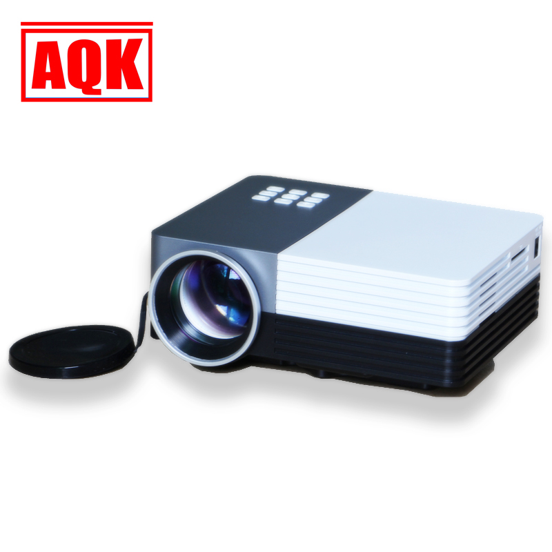 FuLI AQK LE50 Mejor Cine HD 1080 P Portable USB Pico LCD de Video LED Mini Proye
