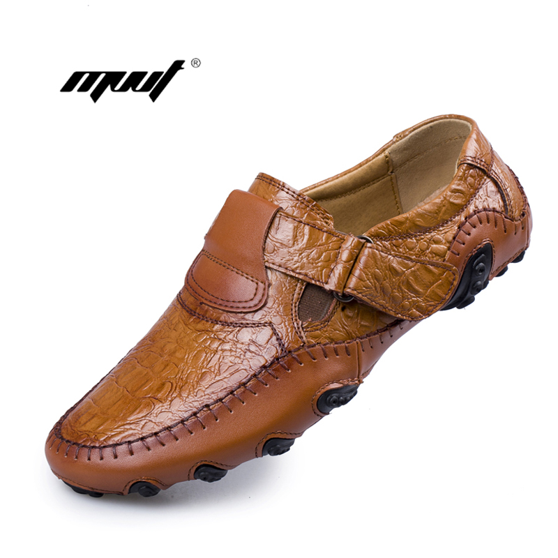 Handmade Genuine Leather Casual shoes Men's Flats Luxury Brand Men Loafers Comfortable Soft Driving Shoes Slip On Moccasins handmade genuine leather men s flats casual haap sun brand men loafers comfortable soft driving shoes slip on leather moccasins