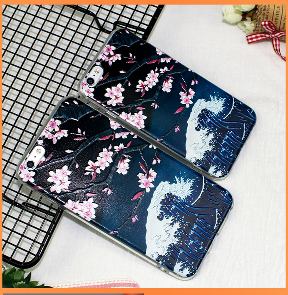 !ACCEZZ TPU Soft Cartoon 3D Protective Back Cover For Apple iphone 66s78 Plus Case Creative Patterned Phone Shell Funda Coque (11)