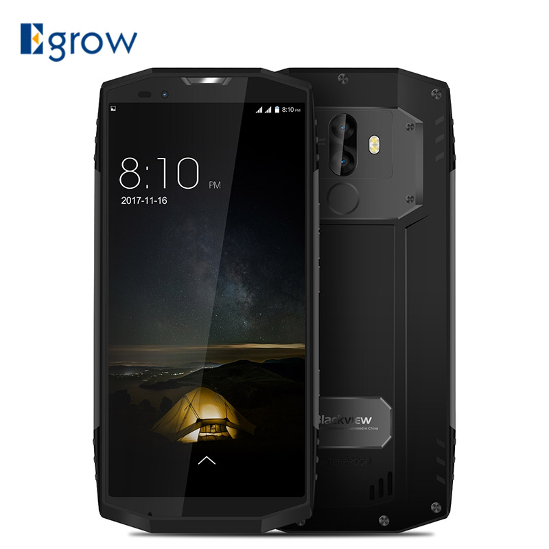 BLACKVIEW BV9000 PRO 5.718:9 Smartphone IP68 Waterproof 6G+128G P25 2.6GHz Android 7.1 4180mAh Fingerprint Dual Cameras NFC