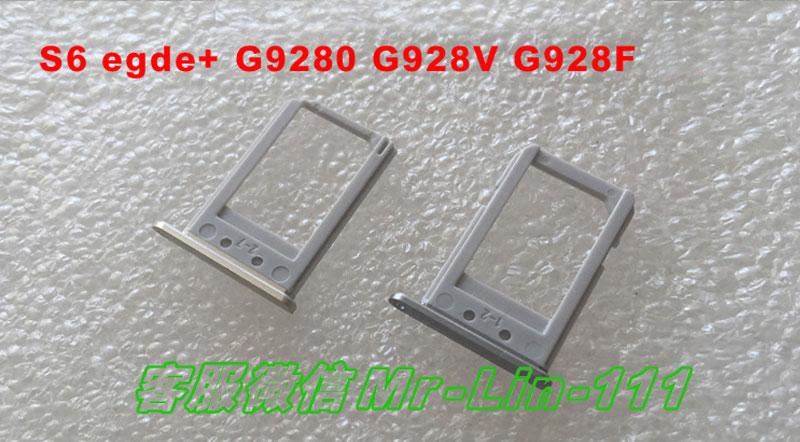 10 pcs/lot Original SIM Card Tray Holder Slot for Samsung Galaxy S6 G920 S6 edge G925 SIM Holder Slot Tray Container Adapter