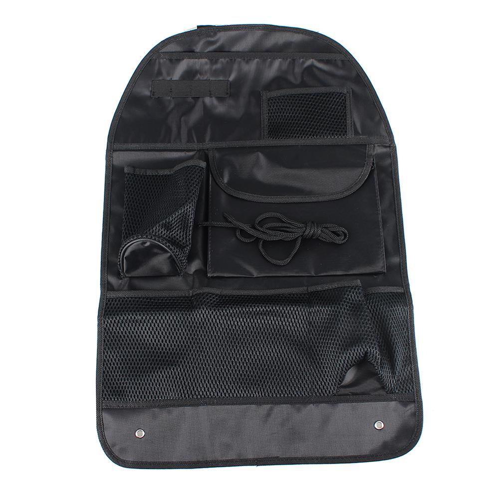 Car Seat Bag Storage Multi Pocket Organizer Car Seat Back Bag Stowing Tidying Car Accessories