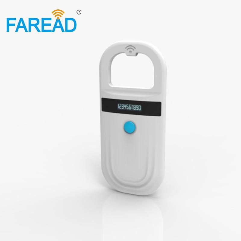 2018 Animal Handheld Reader With Data Storage CE Rohs For Vet, Breeder,pet Owner