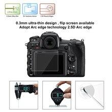 PULUZ – protecteur d'écran pour Nikon D500 D600 D610 D7100 D7200 D750 D800 D810, avec bord incurvé 2,5d, dureté de Surface 9H