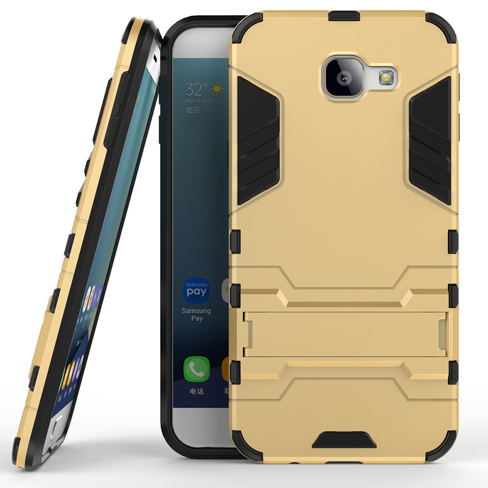 best loved b0b69 53579 For Samsung Galaxy A8 2016 Case Silicon Plastic Anti Knock Back Armor Cover  Phone Bags Cases for Samsung Galaxy A8 2016 A810 5.7-in Fitted Cases from  ...