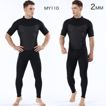 Diving suit 2MM men's short sleeved trousers  diving suit  warm diving surfing clothes outdoor diving suit new arrival