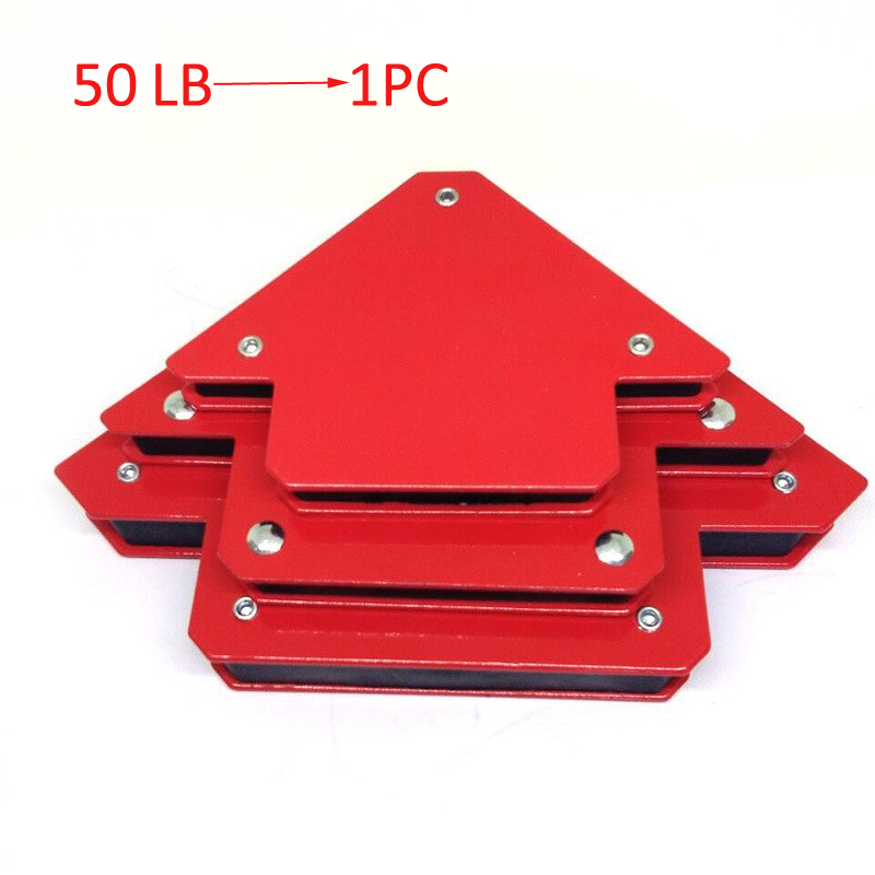 50Lb Magnetic Welding Holder Arrow Shape Multiple Angles Holds Up To For Soldering Assembly Welding Pipes Installation