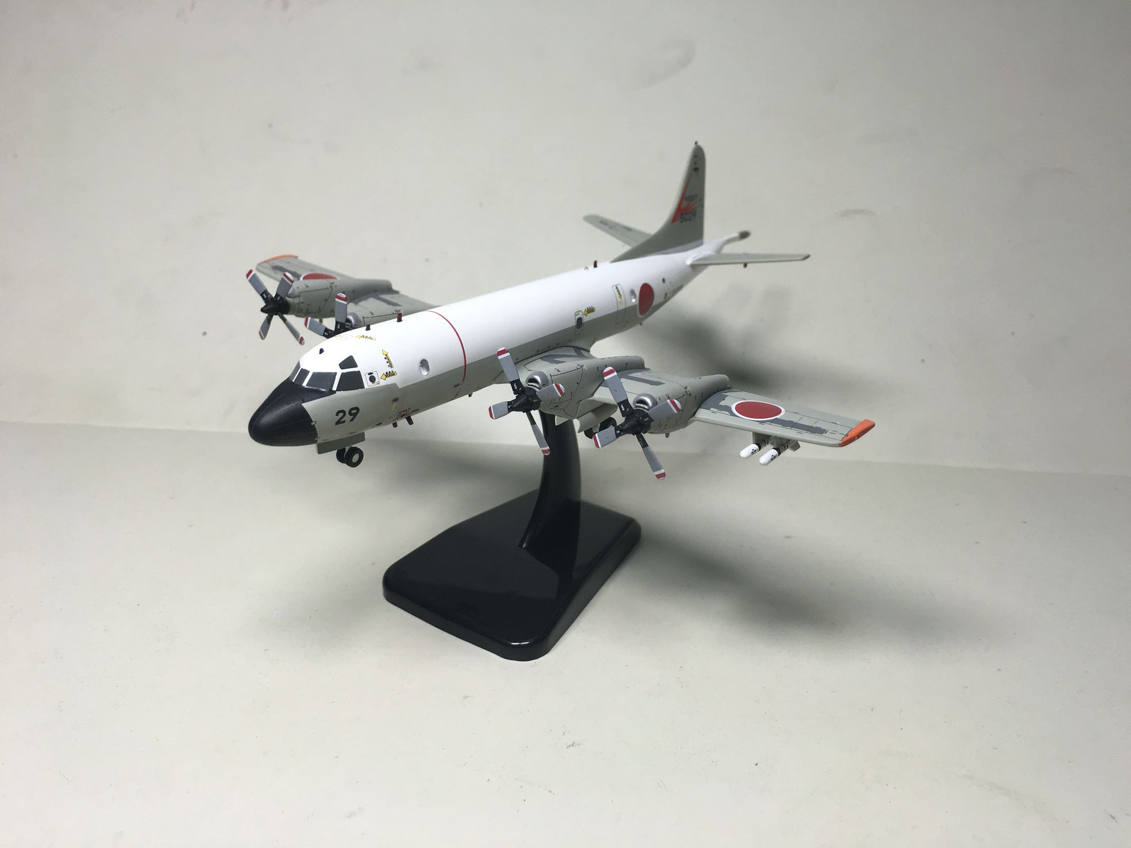 Hogan 1:200 P-3C Orion anti submarine aircraft Japan Maritime Self Defense Force 5029# maritime safety