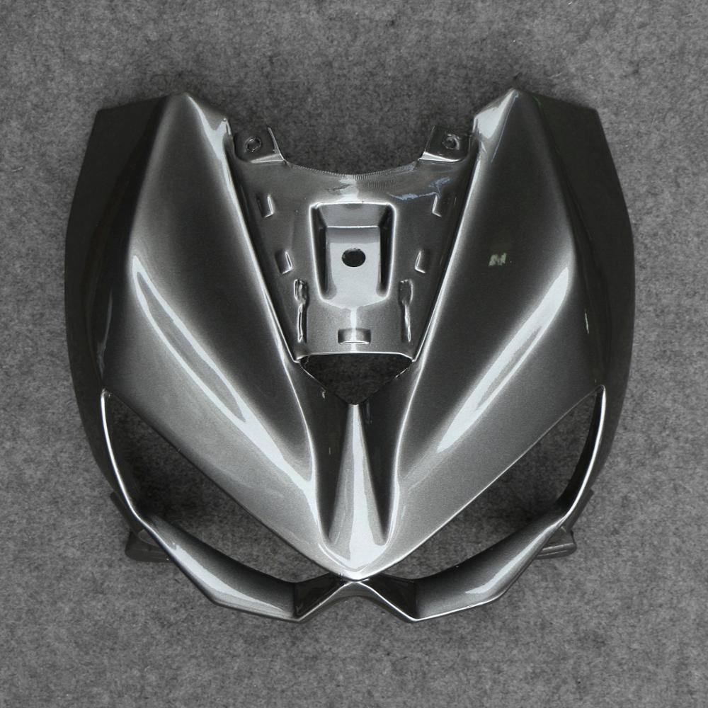 Motorcycle Front Upper Fairing Headlight Cowl Nose Fit For Kawasaki Z750 07-12