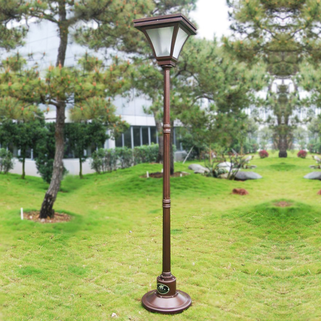 Solar Lights Outdoor Garden Lawn Lamp Villa Landscape Garden Lights Pole