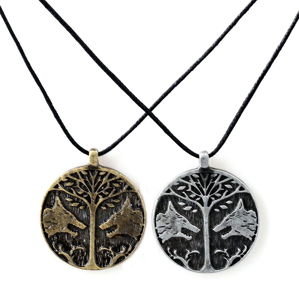 Games Destiny Necklace for Boys Best Friend Leather Chain Choker Necklaces RopeNeckless Male Necklaces & pendants Collier Metal