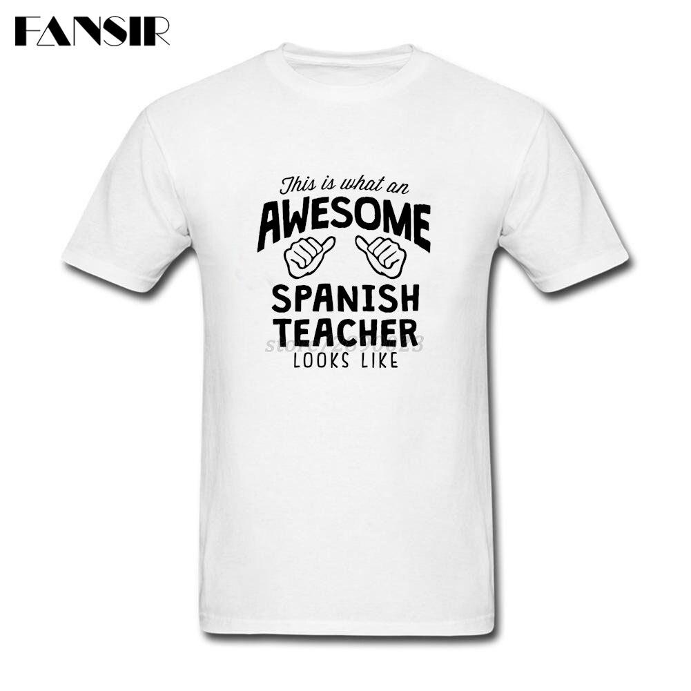 a7c80244bd Adaptados-Camiseta-Masculina-Incr-vel-Professor-Espanhol-Parece-Camisa -Dos-Homens-T-100-Algod-o-de.jpg