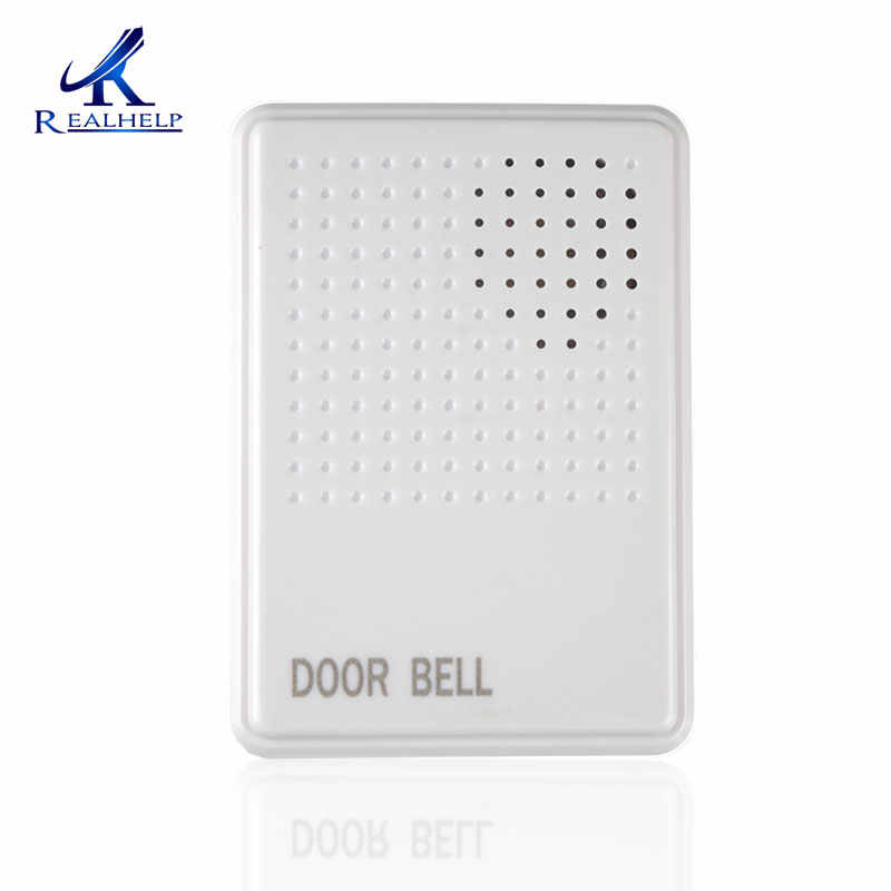 12v dc exrternal wired access control doorbell wire doorbell no need  replace the battery 4 wires