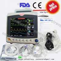 CMS6000C ICU monitor pacjenta EKG/EKG/NIBP, SPO2, PR, odpowiednio, temperaturę, 6-parametry, CONTEC
