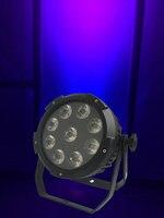 Rasha New Arrival V9 Alimentado Por Bateria LEVOU Luz Par de Alumínio 9*18 W RGBAW UV LED Par Pode Com Controle Remoto IR Sem Fio controle