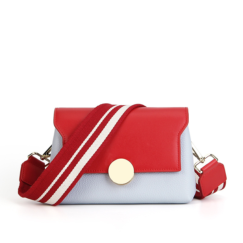 New hit color small flap bags First Layer Of Cowhide Shoulder Messenger Bags Women Genuine Leather Handbags fashion ladies bags genuine leather women s handbag one shoulder cross body small bags women s brief first layer of cowhide leather messenger bag