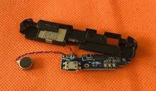 Gebruikt Originele USB Stekker Lading Board + luidspreker voor Gretel GT6000 MTK6737 Quad Core 5.5 inch HD Gratis Verzending