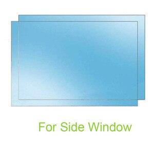 Image 4 - Car Mirror Side Window Clear Film Anti Fog Membrane Waterproof Rainproof Car Anti Water Sticker Car Accessories 2PCS/Set