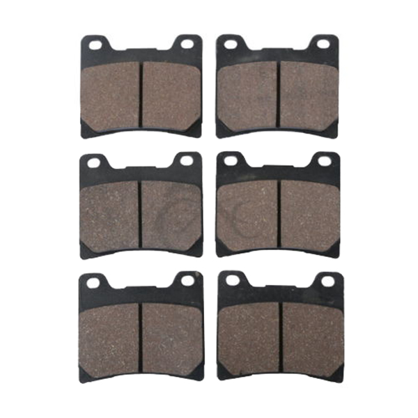 Motorcycle Sintered Disc Front & Rear Brake Pads For YAMAHA FZ750 <font><b>FZ</b></font> <font><b>750</b></font> GENESIS FZX750 FZX <font><b>750</b></font> 1986 image