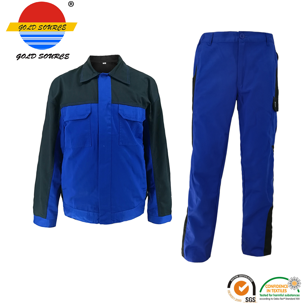 Security & Protection Factoray On Sales Cheap Long Sleeves Twill Industry Workwear Construction Jackets Durable Service