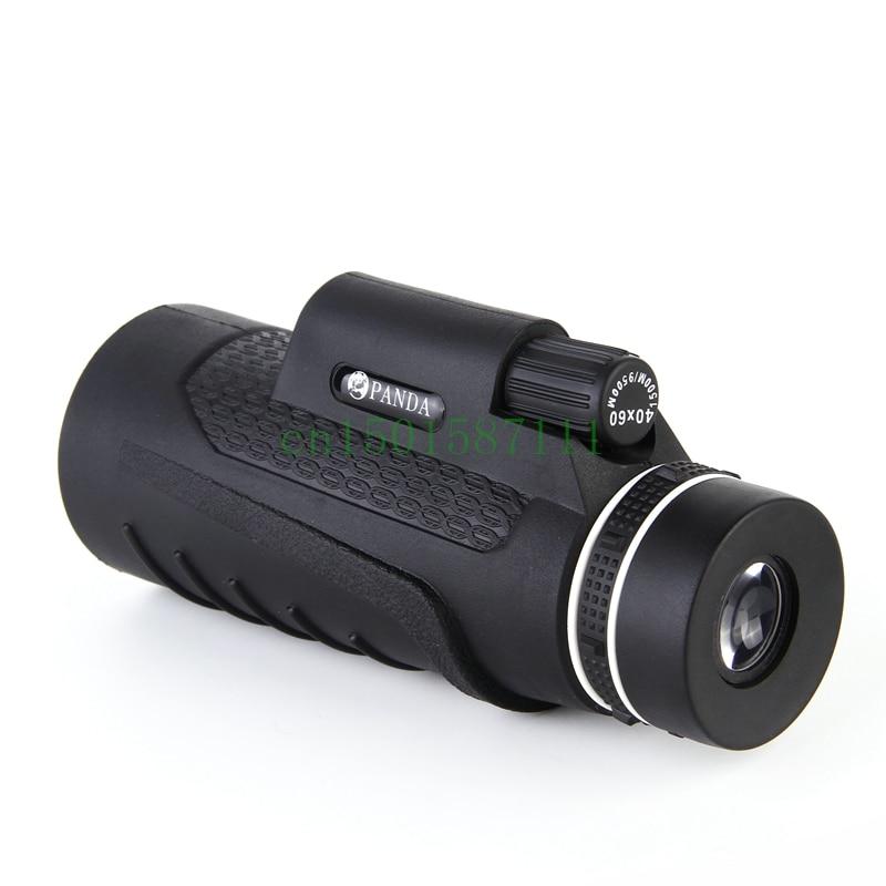 2016 Новинка высокое качество 40x60 Увеличить Открытый телескоп Монокуляр HD видения Телескопы Охота Военная Униформа Монокуляры бинокулярный полезные