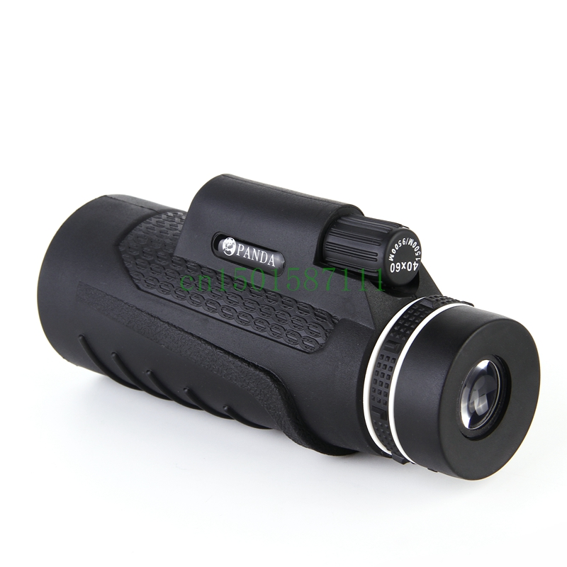 2016 New High Quality 40x60 Zoom Outdoor Telescope Monocular hd Vision Telescopes Hunting Military Monoculars font