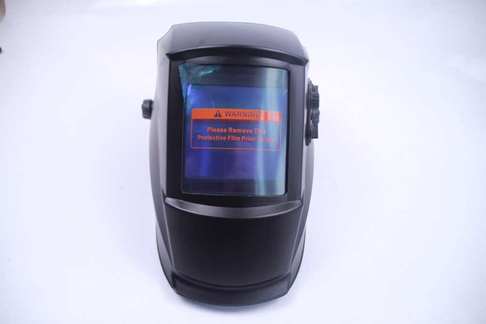Romantic 2016 Hot Sale Auto Darkening Welding Helmet/welding Mask/mig Mag Tig original Black Striae /4 Arc Sensor Fast Shipping Buy One Give One