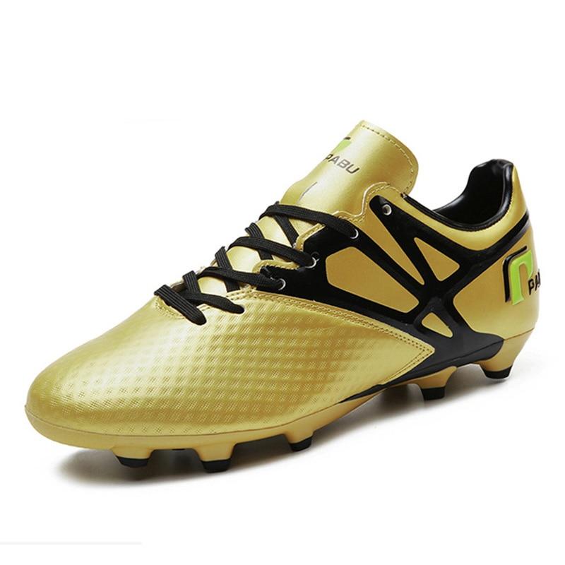 Nuevos zapatos para hombre exterior adultos fútbol tacos