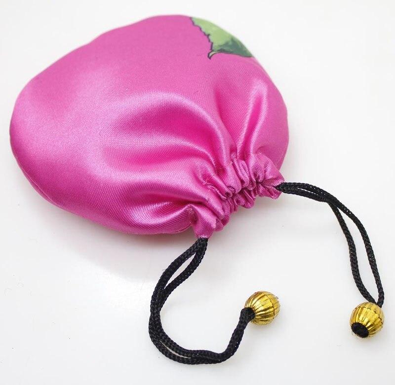 Random Color Man-Made Silk Jewelry Gift Cloth Pouches China Vintage 20PCS 50PCS 100PCS 200PCS
