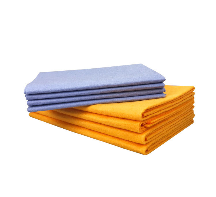 8PCS Anti-grease Bamboo Fiber Dish Cloth Washing Towel Absorbent dish washing Kitchen Cleaning Wiping Rags Shamwow Towel