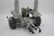 Neue Ankunft! RCGF 50cc Dual Zylinder Benzin/Benzin Motor für RC Flugzeug