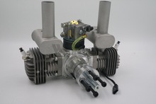 New Arrival ! RCGF 50cc Dual Cylinder Petrol/Gasoline Engine for RC Airplane
