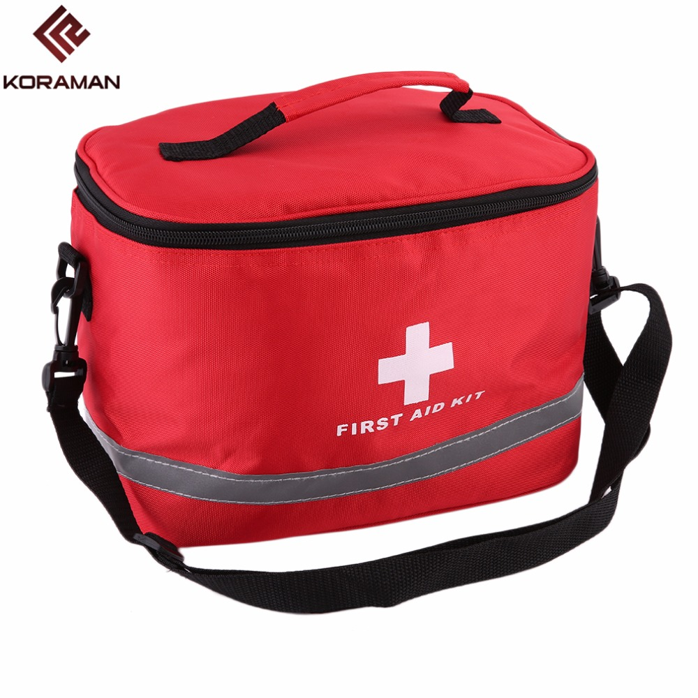 Large First Aid Kit Bag Emergency Survival Storage Case Camping Home  Medical Bags Package Outdoor Hunting Travel Nylon Portable