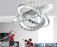 Modern LED Crystal Pendant Lights Simply Lamp For Bed Room The Hall Lamp And LED Supper