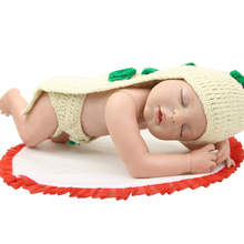 Collectible 22 Inch Reallife Reborn Babies Full Body Silicone Vinyl Realistic Baby Dolls for Child Christmas Gift