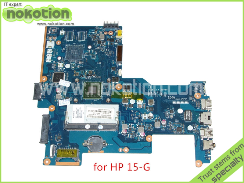 ZS051 LA-A996P Rev 1.0 750634-501 750634-001 for HP 15-G Series laptop motherboard DDR3