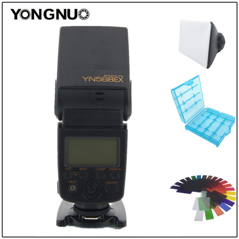 YongNuo YN-568EX YN568EX TTL Wireless HSS Flash Speedlite for Nikon D4 D3x D3s D800E D700 D7000 D90 D80 D5200 D5100 D3100 D40x fotoniobox лайтбокс малевич 2 25x25 137