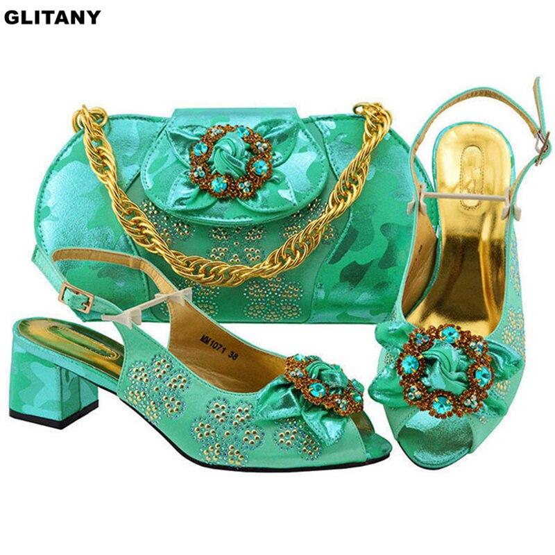 Et Femmes Green Sacs Blue Blue water fuchsia Chaussures Ensembles Haute Assortis pink royal Sac Pour Dernières Qualité Italiennes Avec or De d Les Sandales Luxe Purple UwFxSSO0nq