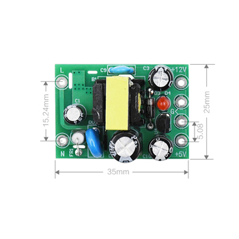 AC-DC 110-220V Switching power supply module AC-DC isolation input output 5V /12V /100mA /500mA