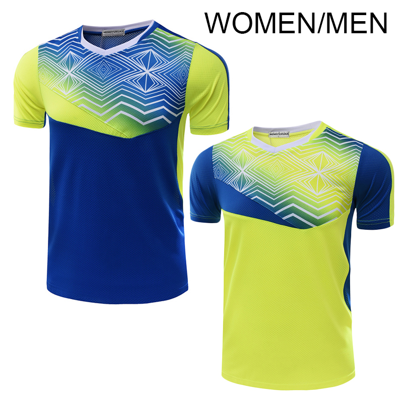 New Tennis shirt Men Women Table tennis shirt Tennis shirt female male sports t shirt 5053AB
