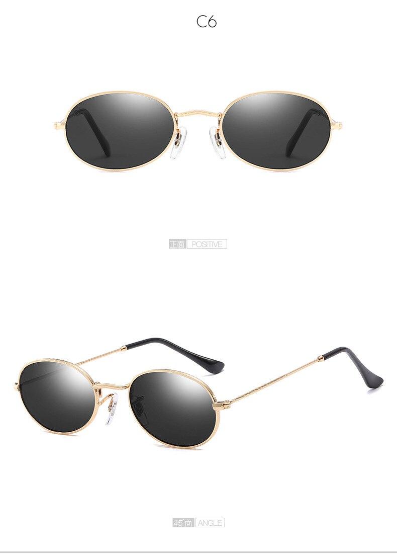 Кто милашка 2018 черный маленький овальные очки Для мужчин Для ...