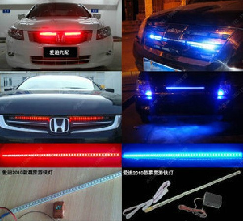 Night rider lights the word usually refers to visible light multi 7 color led knight night rider scanner lighting bar remote mozeypictures Images
