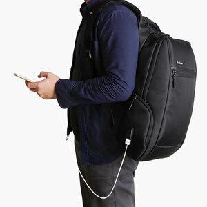 Image 5 - Padieoe 2018 Del Nuovo Progettista della Tela di canapa Zaino Del Computer Portatile per Viaggi Uomini di Modo Daypack carta di Ricarica di Alta Qualità Alla Moda Maschile Zaino