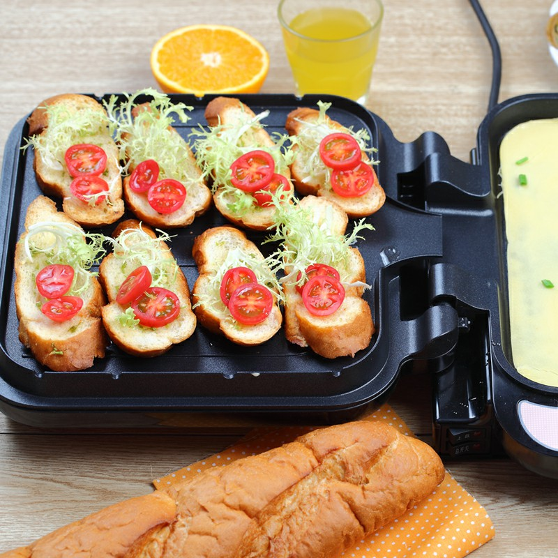 220V Non-stick Bear Brand Electric Crepe Maker Machine Double Side Heating Household Electric Baking Pan 220V Non-stick Bear Brand Electric Crepe Maker Machine Double Side Heating Household Electric Baking Pan