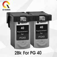 PG 40 CL 41 Ink Cartridge For Canon PG40 CL41 Pixma MP160 MP140 MP210 MP220 MX300 MX310 iP1800 iP2500 iP1600 iP1200 Printer Ink