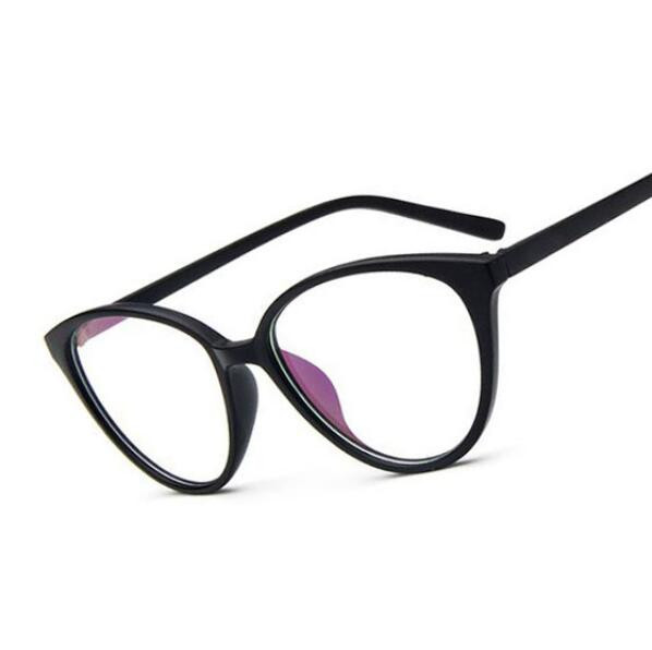 e42f615a66 Vintage Cat Eye Glasses Frame Women Fashion Classic Spectacles Frame Female  Brand Designer Optical Eyeglasses Oculos de grau